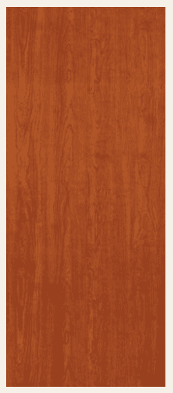 Newport Cherry prefinished hardboard finished door